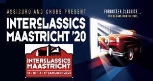 ویزای نمایشگاه اتومبیل های کلاسیک INTERCLASSICS MAASTRICHT 2021 هلند