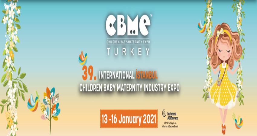 نمایشگاه کودک ، نوزاد و مادر CBME TURKEY 2021 ترکیه