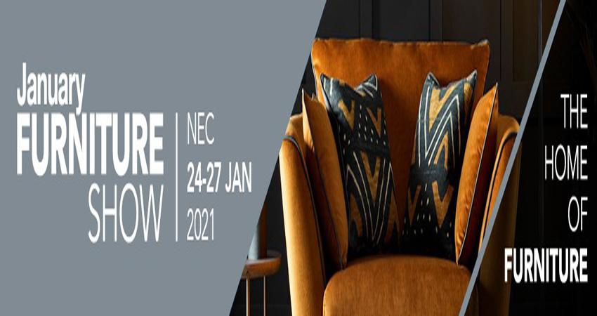 نمایشگاه مبلمان JANUARY FURNITURE SHOW 2021 انگلستان
