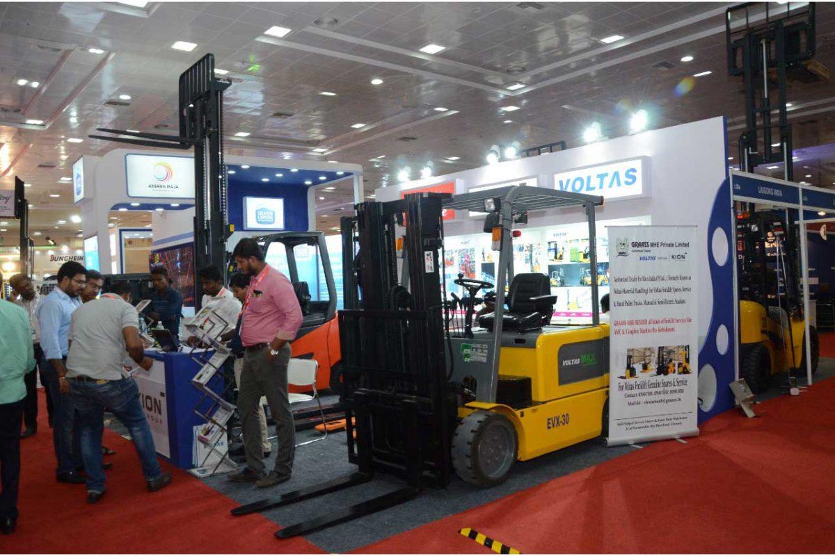 نمایشگاه حمل و نقل مواد LOGMAT 2021 هند