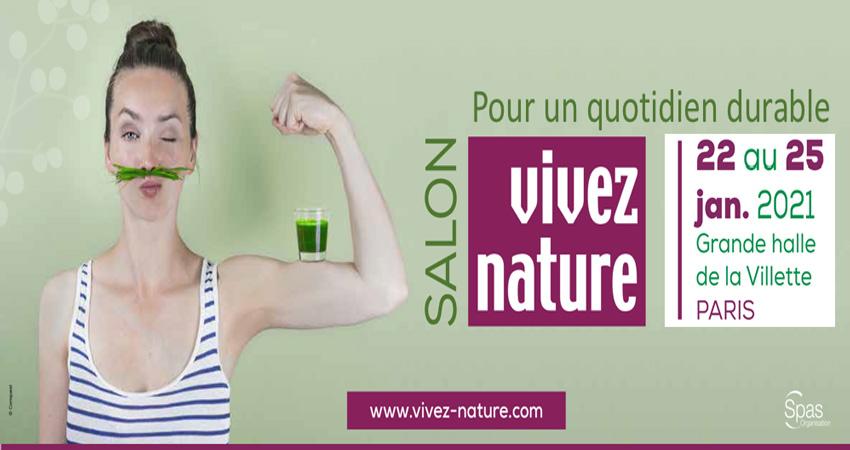 نمایشگاه محصولات ارگانیک VIVEZ NATURE PARIS 2021 فرانسه