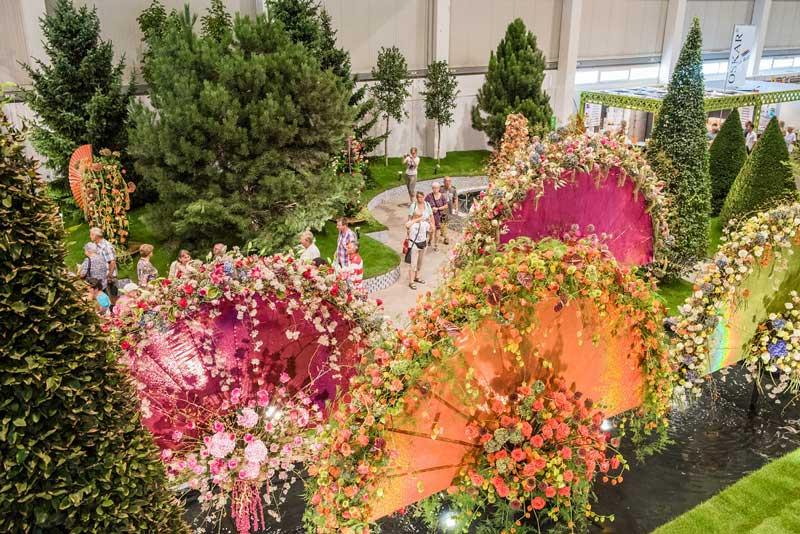 نمایشگاه گل و گیاه و باغبانی INTERNATIONALE GARTENBAUMESSE TULLN 2021 اتریش