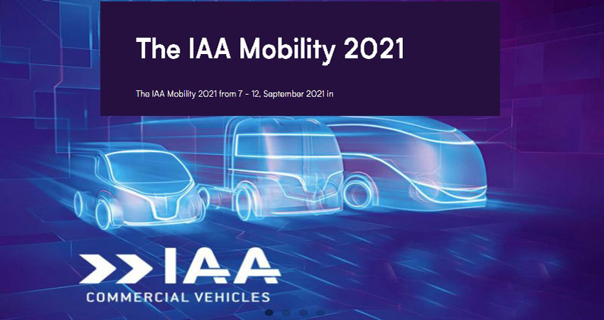 نمایشگاه وسایل نقلیه تجاری IAA COMMERCIAL VEHICLES 2021 آلمان