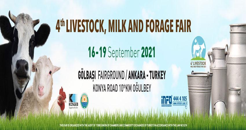 نمایشگاه دام ، شیر و علوفه LIVESTOCK, MILK AND FORAGE FAIR 2021 ترکیه