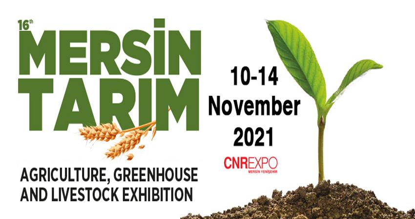 نمایشگاه کشاورزی ، گلخانه و دامداری MERSEN TARIM 2021 ترکیه