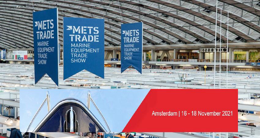 نمایشگاه تجهیزات و سیستم های دریایی METSTRADE 2021 هلند