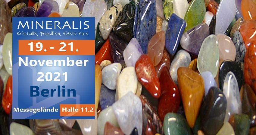 نمایشگاه مواد معدنی ، فسیل ، سنگ های قیمتی و جواهرات MINERALIS - BERLIN 2021 آلمان