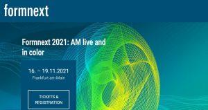 نمایشگاه و کنفرانس فناوری تولید چاپ سه بعدی FORMNEXT 2021 آلمان