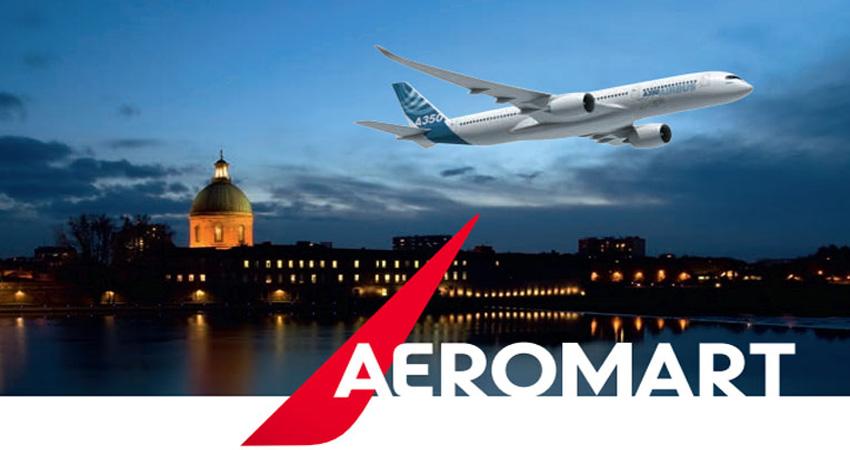 نمایشگاه و کنفرانس صنعت هوافضا AEROMART TOULOUSE 2021 فرانسه