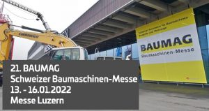 نمایشگاه ماشین آلات ساختمانی BAUMAG BAUMASCHINEN-MESSE 2022 سوئیس