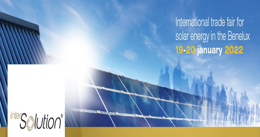 نمایشگاه بین المللی انرژی خورشیدی INTERSOLUTION 2022 بلژیک