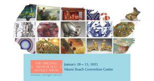 نمایشگاه بین المللی عتیقه جات ORIGINAL MIAMI BEACH ANTIQUE SHOW 2022 آمریکا