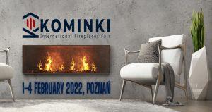 نمایشگاه شومینه KOMINKI – FIREPLACES POZNAN 2022 لهستان